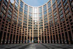 Europaparlamentet i Strasbourg - svensk politik