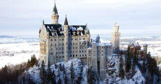 Det här fina slottet får illustrera artikeln om Castellum och United Spaces