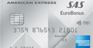 SAS-brandat kreditkort från American Express