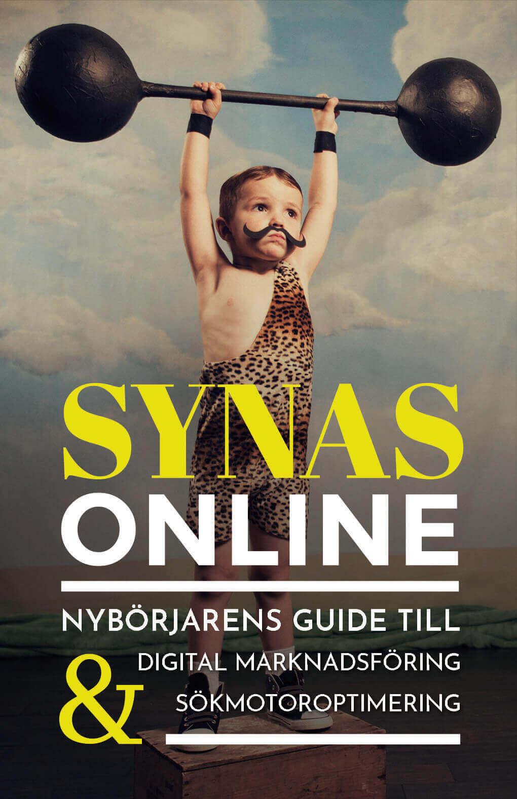 Synas Online. Nybörjarens guide till marknadsföring och sökmotoroptimering bokomslag
