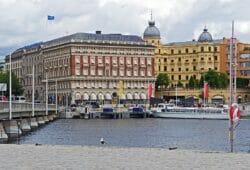"""Handelsbankens """"marmorborg"""" i hjärtat av Stockholm. Hur länge överlever alla storbanker?"""