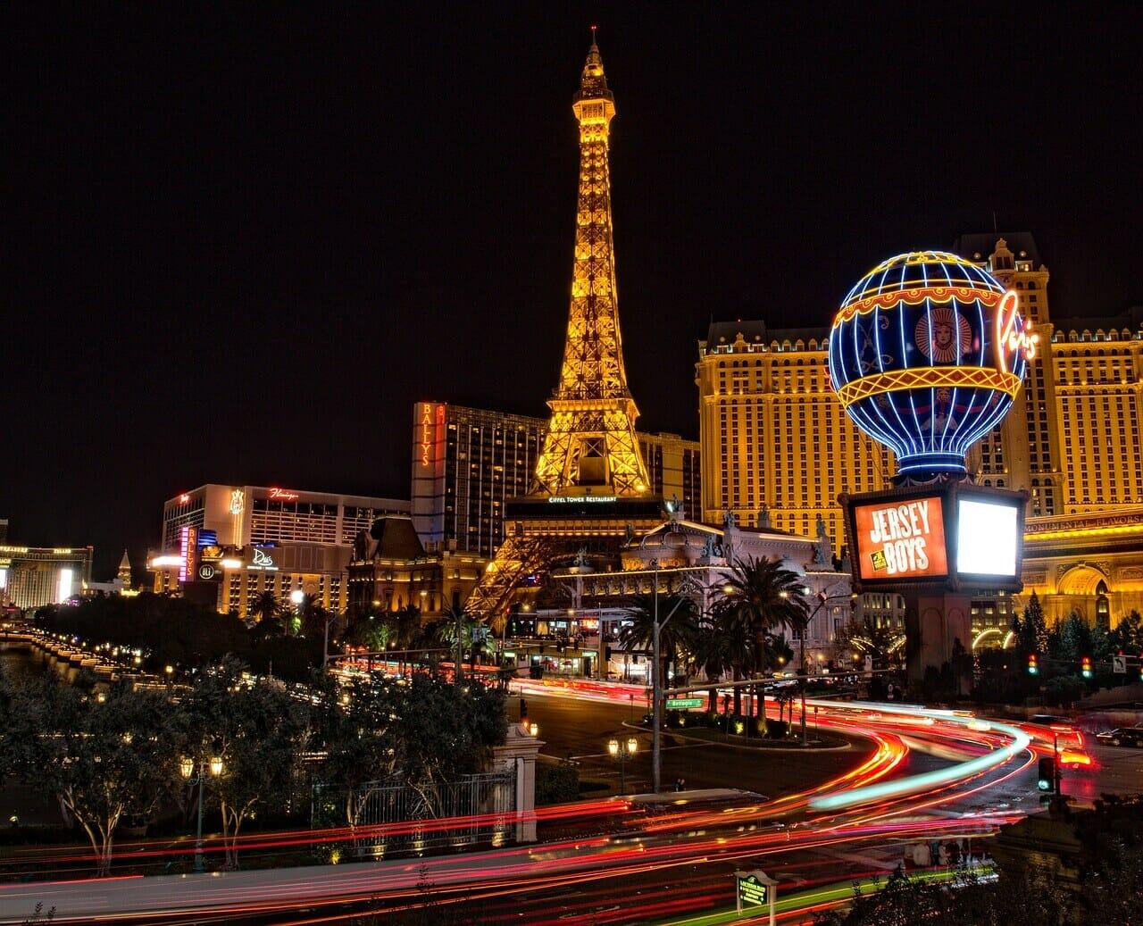 Viva Las Vegas! VanEck Vectors Gaming ETF innehåller många spelaktier med bas i Las Vegas.