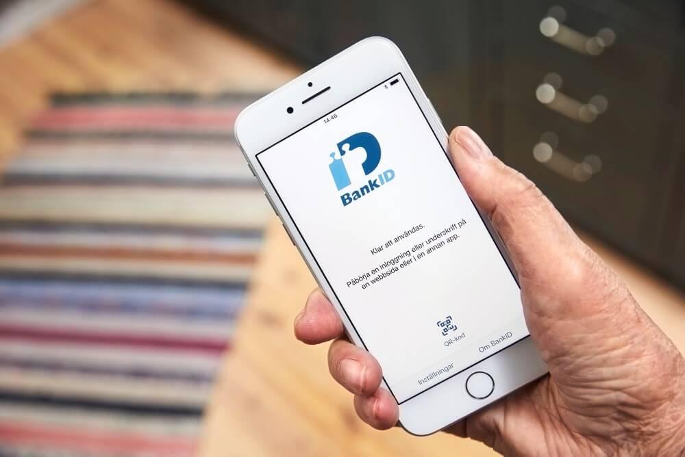 mobilt bank-id används för casino utan konto eller registrering