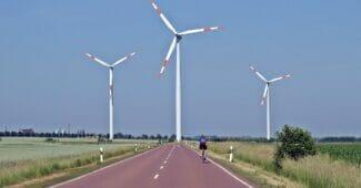elmoped moped elcykel vindkraftverk